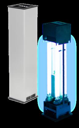 Lampa UV-C bakteriobójcza
